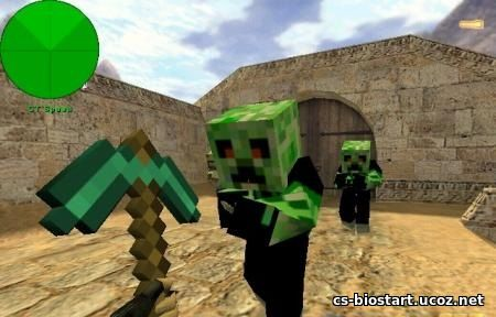 Minecraft Models CS 1.6